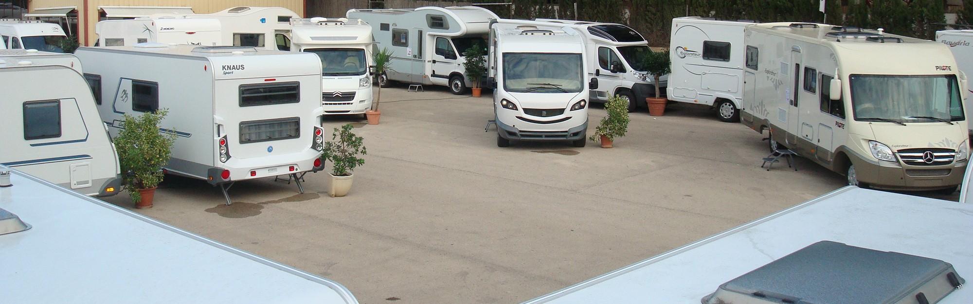 Instalaciones de Caravanas Ortiz con diferentes modelos