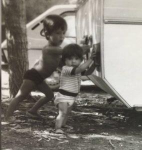 empujando caravana