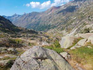 Vistas desde las pistas de esquí de Artouste