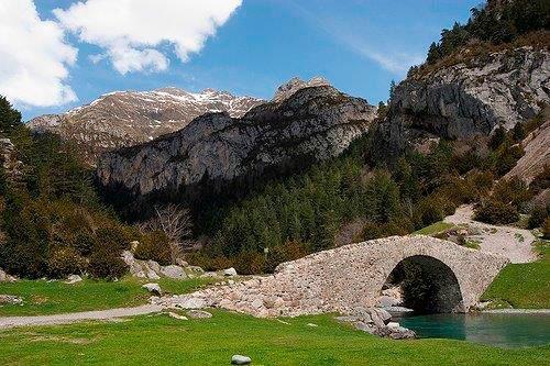 refugio de Bujaruelo en Pirineos