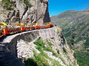 excursión con el tren de artouste