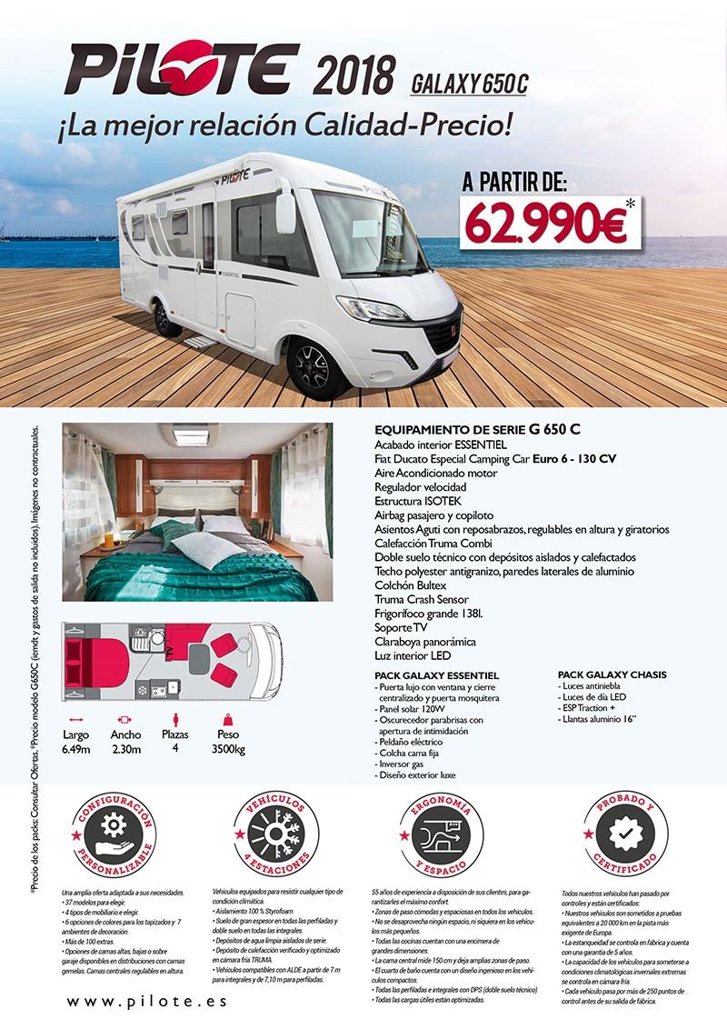 Autocaravanas desde 62.990 €