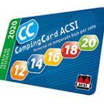 Camping Card ACSI 2020